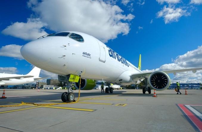 airBaltic odebrał 23. airbusa A220-300