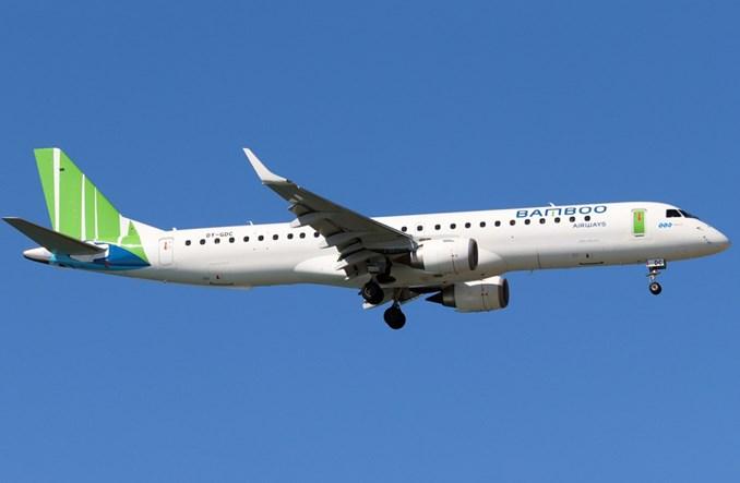 Bamboo Airways: Embraer E195 zadebiutował operacyjnie w Wietnamie