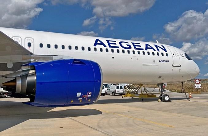 Aegean Airlines odebrały pierwszego airbusa A321neo