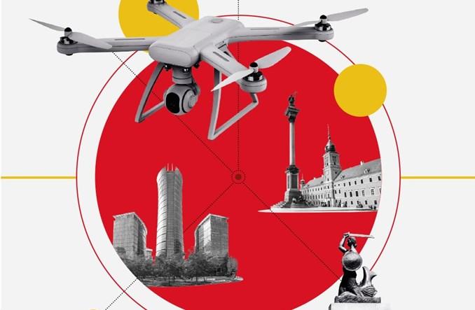 """Nie wszędzie polecisz dronem w Warszawie. ULC oznacza strefy """"NO DRONE ZONE"""""""