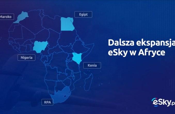 Grupa eSky wchodzi na cztery nowe rynki w Afryce