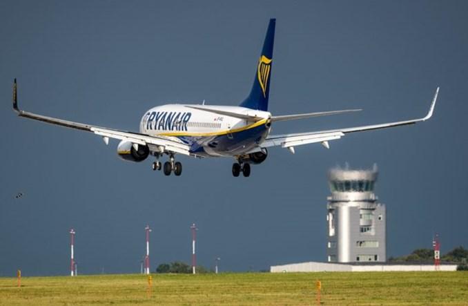 Ryanair zainaugurował trasę z Krakowa do Billund