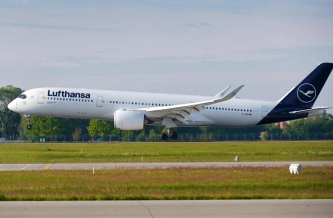 Pożegnanie Lufthansy z portem Tegel rejsem A350
