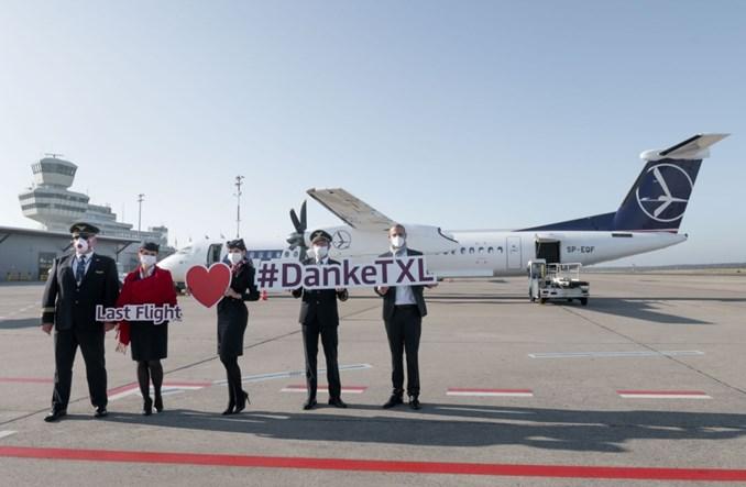 LOT pożegnał się z lotniskiem Tegel