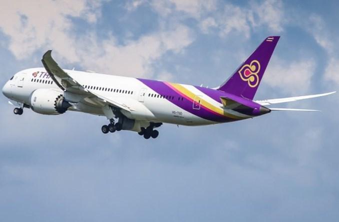 Trwa wyprzedaż w Thai Airways. Można kupić kubki, pokrowce i... wykałaczki
