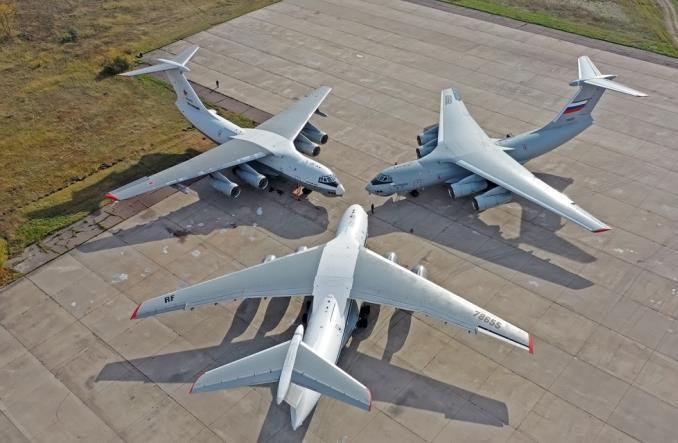 Aviastar-SP zakończył montaż kolejnego seryjnego Iła-76MD-90A (Zdjęcia)