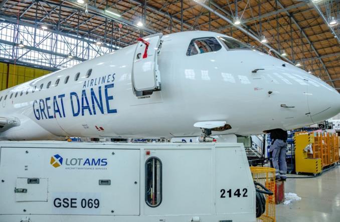 Duńskie linie Great Dane wybrały LOTAMS (Zdjęcia)
