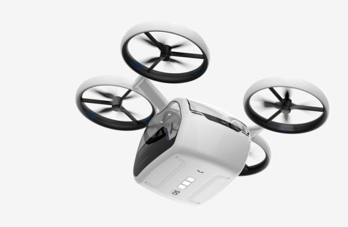 Tak będzie wyglądał pasażerski dron Kite. Ma latać w Chinach