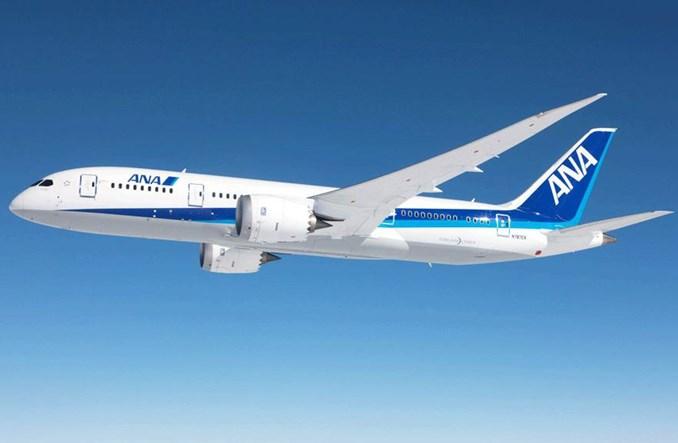 All Nippon Airways chcą się rozwijać dzięki nowym Dreamlinerom
