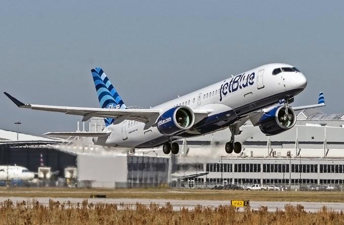 Pierwszy lot airbusa A220-300 dla JetBlue