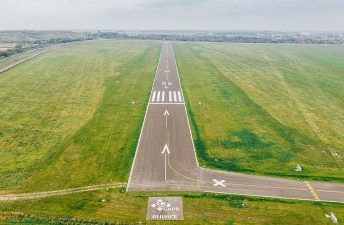 Gliwice: Zmodernizowana płyta lotniska oddana do użytku