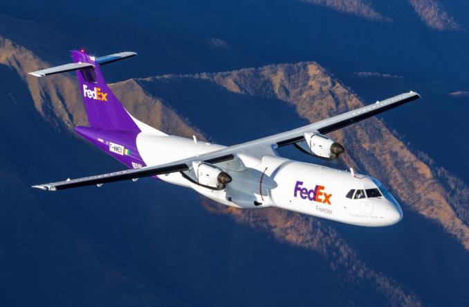 Pierwszy samolot ATR 72-600F dostarczony do FedEx Express