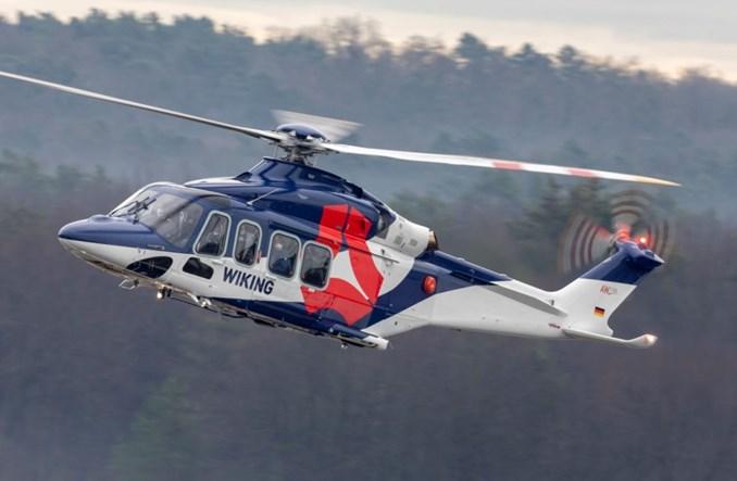 Niemcy: Powiększa się flota morskich AW139