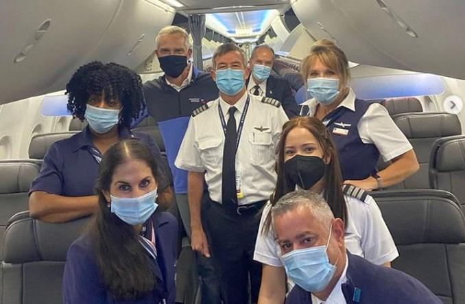 Boeing 737 MAX linii American Airlines doleciał do Nowego Jorku z Miami