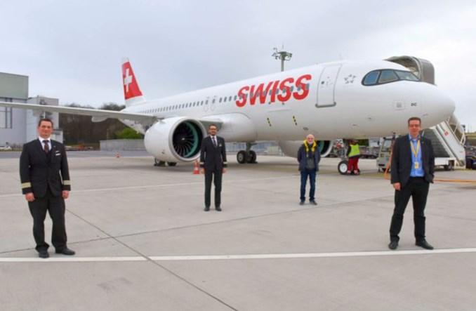 """A320neo """"Pontresina"""" dołączył do floty SWISS"""