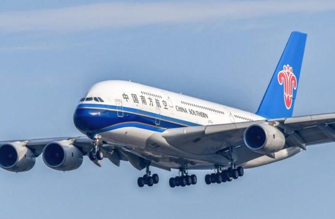 China Southern Airlines zawiesiły rejsy A380 do Londynu
