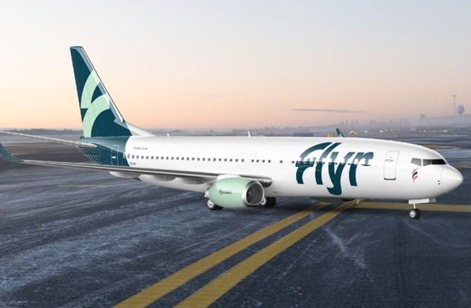 Akcje Flyr wzrosły o 28 proc. Flota nowych linii potroi się za 4 lata