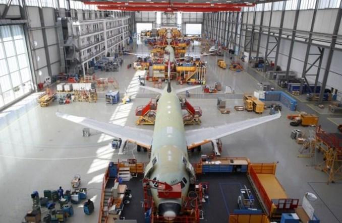 Airbus spowolni produkcję samolotów A320. Więcej powstanie tylko A220