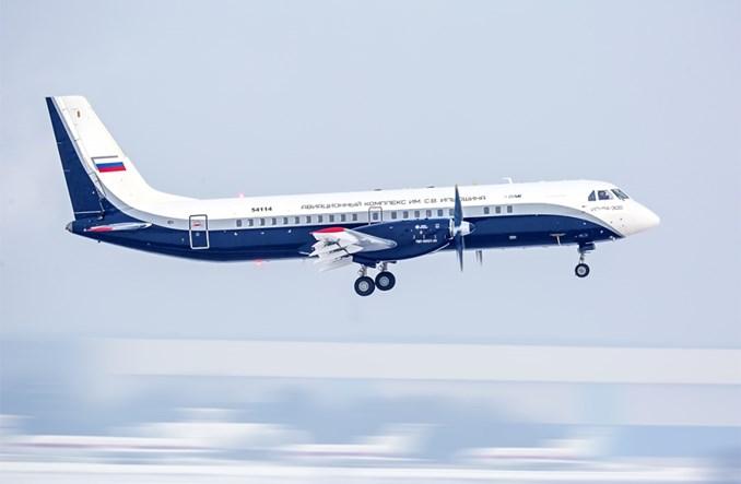 Iljuszyn: Drugi lot techniczny turbośmigłowego Iła-114-300