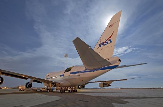 LH Technik: Boeing NASA B747 SOFIA powraca do służby po przeglądzie (Zdjęcia)