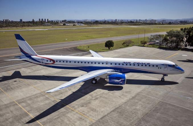 Pierwszy E-Jet E2 w Afryce. Air Peace odbiera pierwszego embraera E195-E2