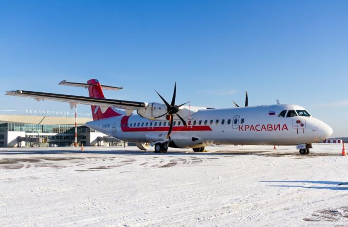 KrasAvia wzmacnia regionalne loty na Syberii dzięki ATR 72-500
