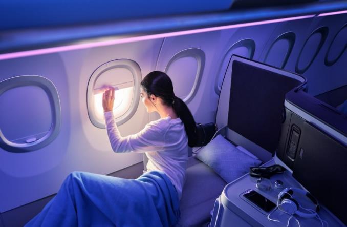 Airbus: Krok bliżej do zupełnie nowych wrażeń kabiny Airspace A320neo (Zdjęcia)