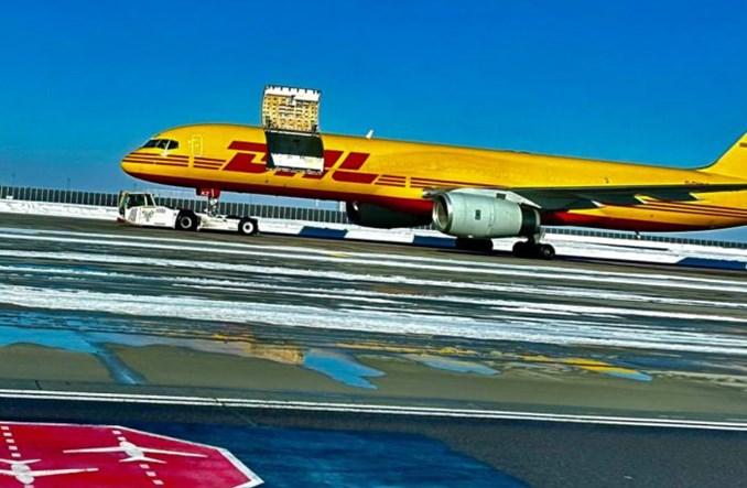 Lipsk: Boeing 757 DHL lądował z otwartymi drzwiami. Ładunek ocalał, nikt nie został ranny