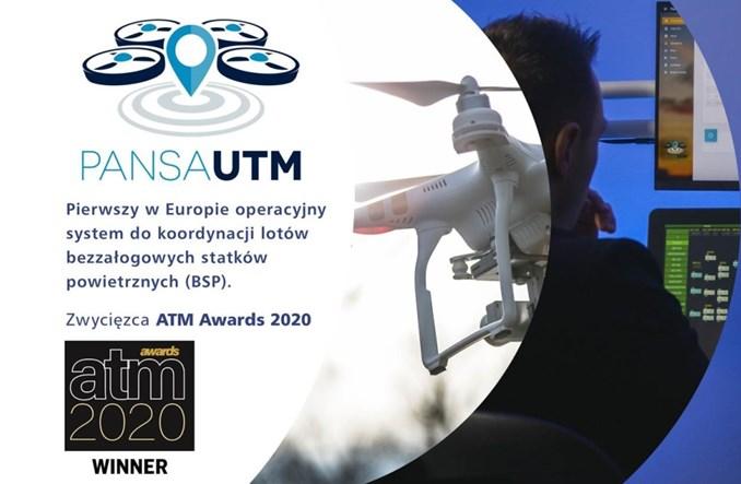 Polski system PansaUTM najlepszym rozwiązaniem dronowym 2020 roku