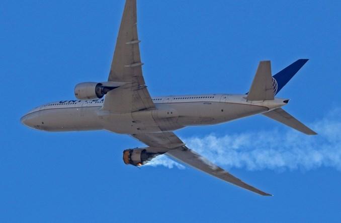 Groźna awaria silnika Pratt & Whitney w B777 linii United