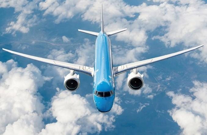 "Pierwszy E195-E2 we flocie KLM Cityhopper. ""Najcichszy samolot na rynku"""