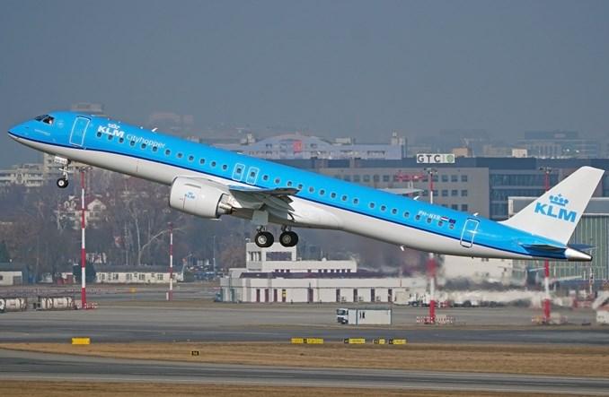 Nowy E-Jet E2 linii KLM zadebiutował komercyjnie w Warszawie (Zdjęcia)