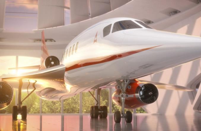 Aerion z zamówieniami na 20 samolotów ponaddźwiękowych od holdingu Buffetta
