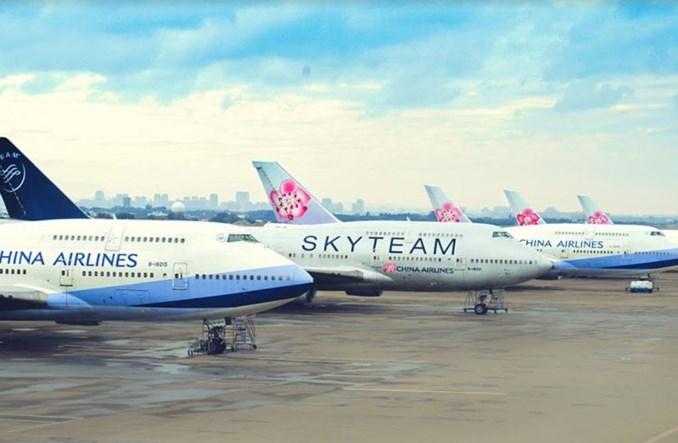 China Airlines uroczyście pożegnały pasażerskie boeingi 747