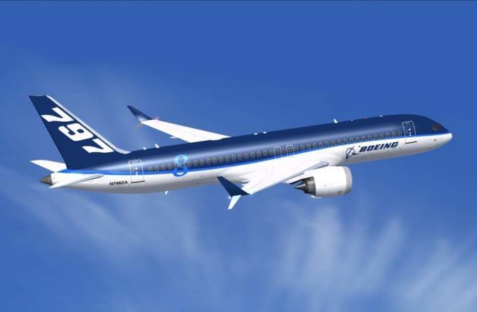 """Boeing kontynuuje prace nad wersją 797. """"Robimy duże postępy"""""""