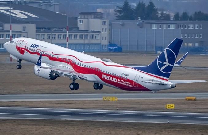 LOT: Pierwszy Boeing 737 MAX po długiej przerwie wystartował z Warszawy!