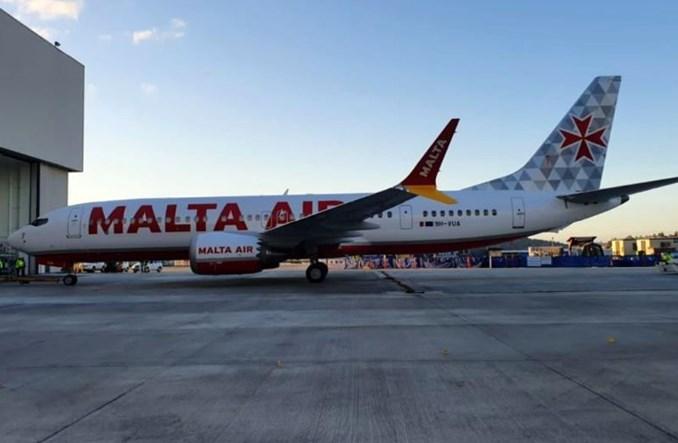Ryanair ujawnił malowanie samolotów Malta Air