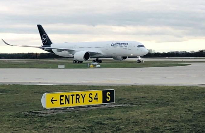 Drugi rejs Lufthansy na Falklandy. A350 pobił wcześniejszy rekord