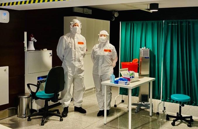 Testy zwalniające z kwarantanny na gdańskim lotnisku