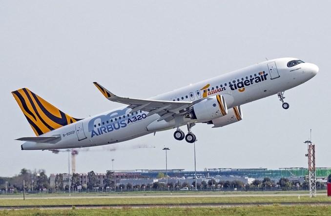 Linie Tigerair Taiwan odebrały pierwszego airbusa A320neo