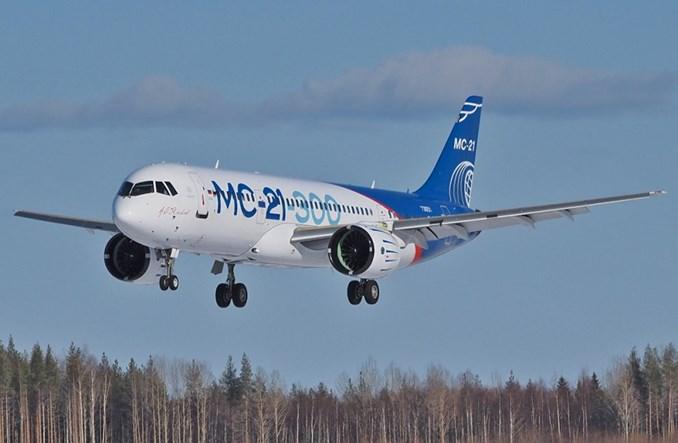Irkut: MC-21-300 zakończył testy w warunkach naturalnego oblodzenia