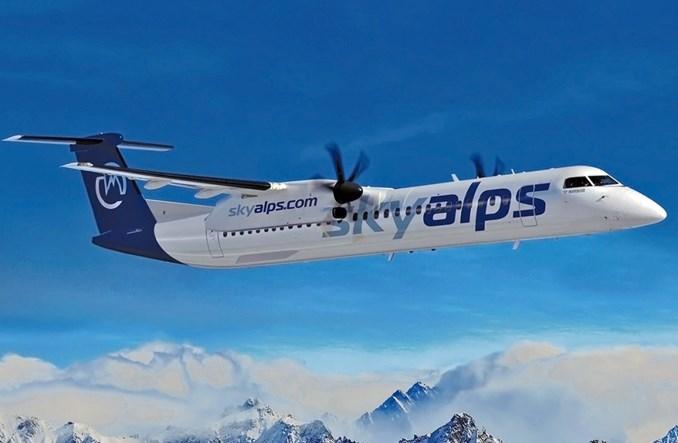 Chorus Aviation: Leasing maszyn Dash 8-400 dla nowej linii Sky Alps