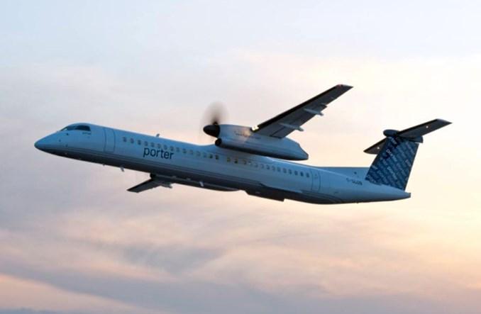Porter Airlines ponownie przełożyły datę wznowienia lotów