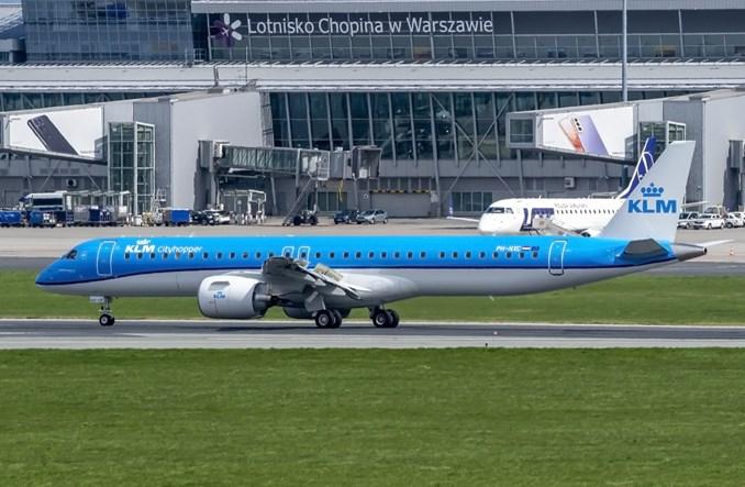 KLM Cityhopper odebrał kolejnego E195-E2. Embraer pojawił się już w Warszawie