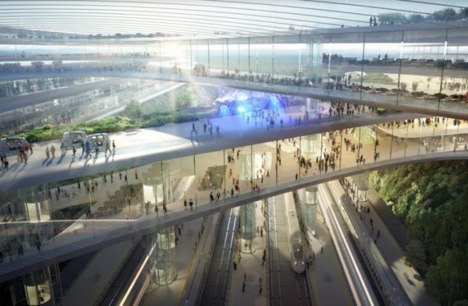 CPK rozmawia z PSE o zasilaniu nowych linii kolejowych