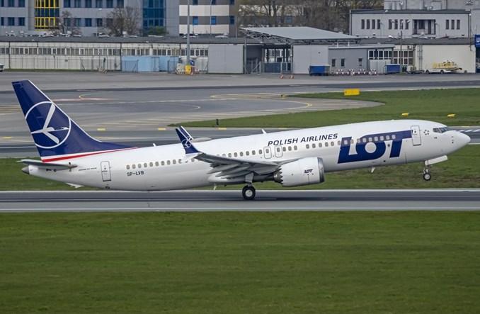 LOT: SP-LVB po przeglądzie w CSAT. Wszystkie MAX-y wykonują loty z pasażerami