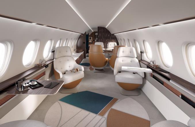 Dassault Aviation wprowadza nowego i największego bizjeta – Falcon 10X (Zdjęcia)