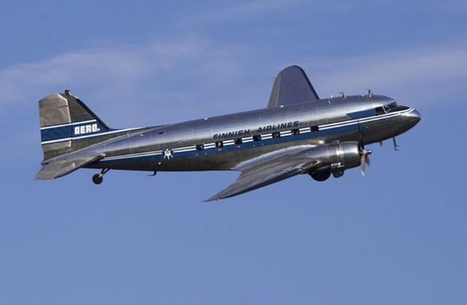 Finlandia: 80-letni DC-3 ponownie odleci z Helsinek