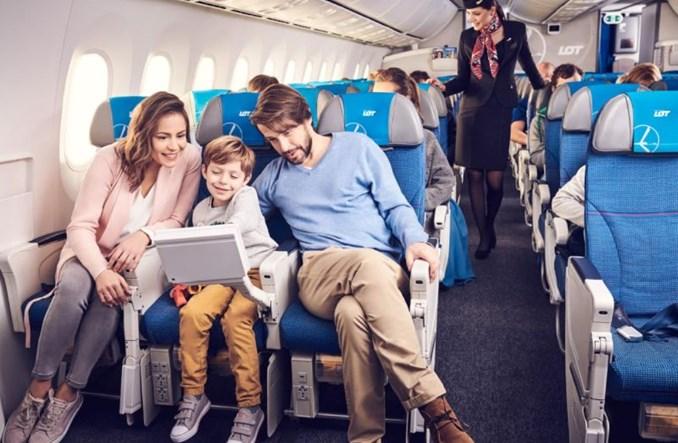 LOT: Wygodne podróżowanie z dziećmi
