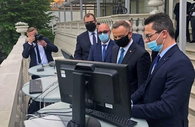 Polski system dronowy w Pałacu Prezydenckim